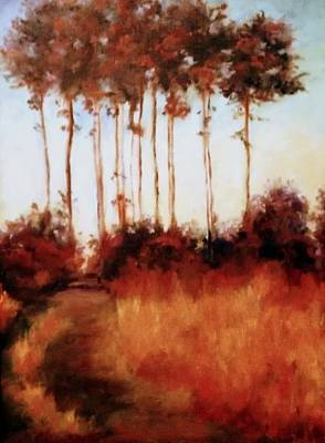 Painting - Fall 2003 by Rosemarie Hakim