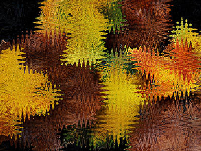 Photograph - Fall Abstract by Judy Vincent