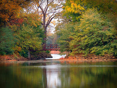 Herrick Lake Photograph - Fall Adventure by Teresa Schomig