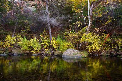 Photograph - Fall Along The Yahi Trail by Robert Woodward