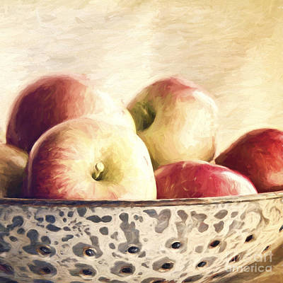 Photograph - Fall Apples by Pam  Holdsworth