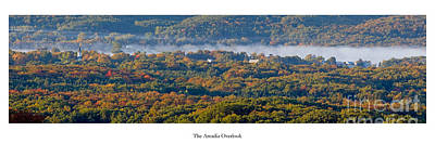 Benzie Photograph - Fall At Arcadia Overlook by Twenty Two North Photography