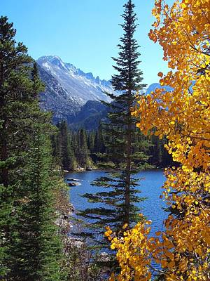 Fall At Bear Lake Art Print