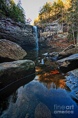 Photograph - Fall At Foster Falls by Randy Rogers
