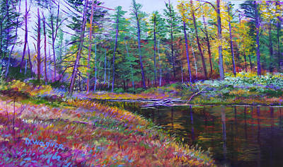Painting -  Laurel Run  by Denise Wagner