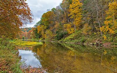 Adventure Photograph - Fall At Little Beaver Creek by John M Bailey
