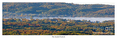 Benzie Photograph - Fall At The Arcadia Overlook by Twenty Two North Photography