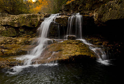 Photograph - Fall At The Falls by Heather Grow