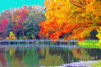 Photograph - Fall At The Lake by Annette Allman