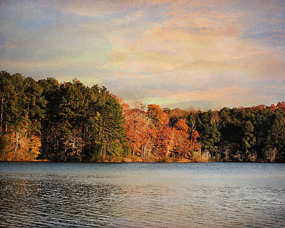 Paintography Photograph - Fall At The Lake I by Jai Johnson