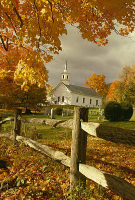 Photograph - Fall At West Guilford Vt by Paul Miller