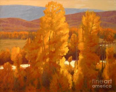 Fall Backlight Art Print by Doyle Shaw