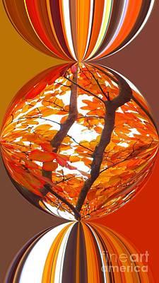 Fall Ball - Autumn Color Art Print by Scott Cameron