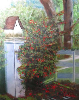 Painting - Fall Berries by Sharon Schultz