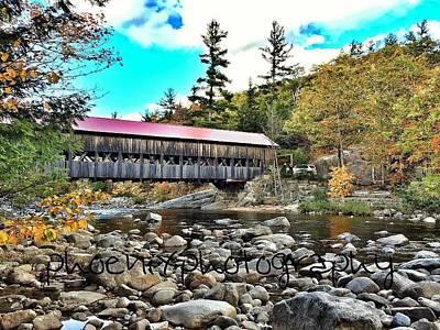 Fall Bridge Original by John Adams