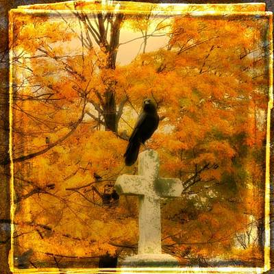 Fall Burst Art Print by Gothicrow Images