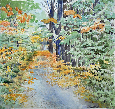 Fall Art Print by Christine Lathrop