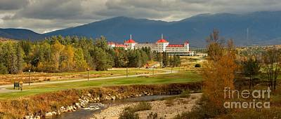 Photograph - Fall Foliage At The White Mountains Omni Resort by Adam Jewell