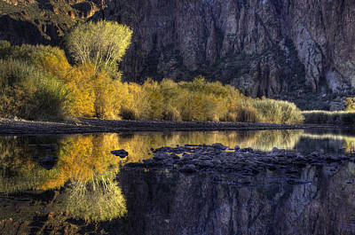 Photograph - Fall Color Refections by Dave Dilli