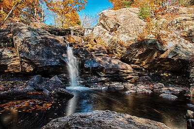 Lucille Ball - Fall Colors at Devils Hopyard by Geoffrey Bolte