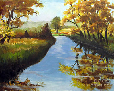 Painting - Fall Colors by Carol Hart