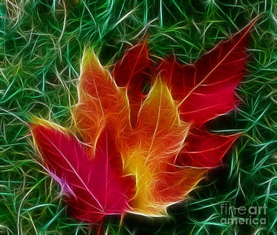 Art Print featuring the photograph Fall Colors by JRP Photography