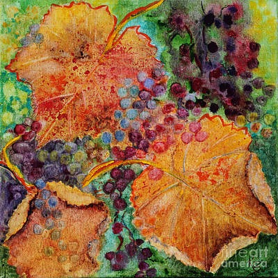Painting - Fall Colors by Karen Fleschler