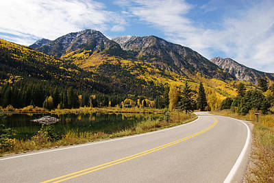 Photograph - Fall Colors Near Marble Colorado by Daniel Woodrum
