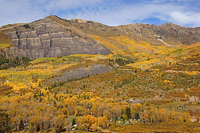 Photograph - Fall Colors Near Marble Colorado No.2 by Daniel Woodrum