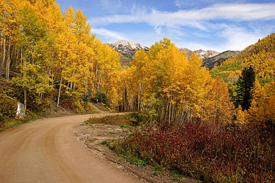 Photograph - Fall Colors Near Marble Colorado No.3 by Daniel Woodrum