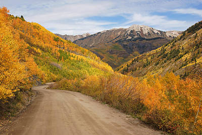 Photograph - Fall Colors Near Marble Colorado No.5 by Daniel Woodrum