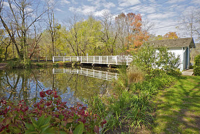 Photograph - Fall Colors On The Canal by David Letts