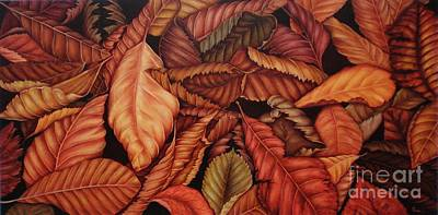 Painting - Fall Colors by Paula Ludovino