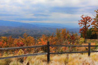 Photograph - Fall Comes To The Mountains by Shari Jardina