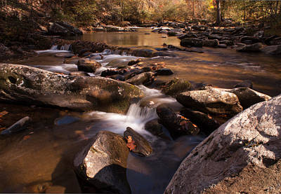 Photograph - Fall Creek by Rebecca Hiatt