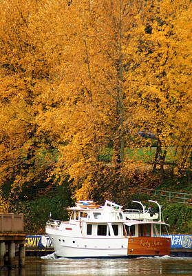Photograph - Fall Cruise by Erin Kohlenberg