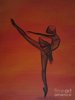 Fall Dancer 1 Art Print by Laurianna Taylor