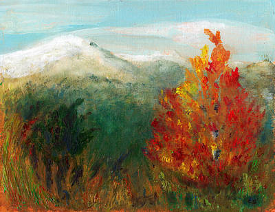Painting - Fall Day Too by C Sitton