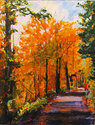 Painting - Fall Delight by Michael Tieman