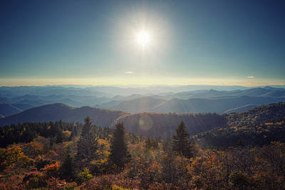 Photograph - Fall Evening by Aaron Morgan