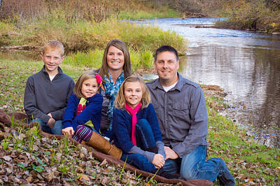 Photograph - Fall Family Outing by Bill Pevlor