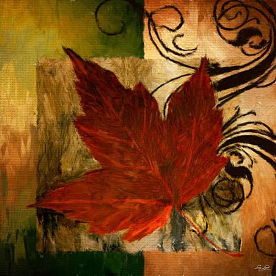 Autumn Art Digital Art - Fall Festiveness by Lourry Legarde