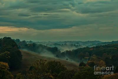 Photograph - Fall Fog by RLH Photography