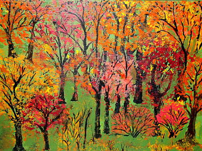 Painting - Fall Foliage 3 by Daniel Nadeau
