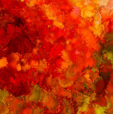 Impressionism Photos - Fall Frolic by Lourry Legarde
