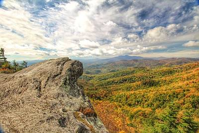 Photograph - Fall From The Blowing Rock by Chris Berrier