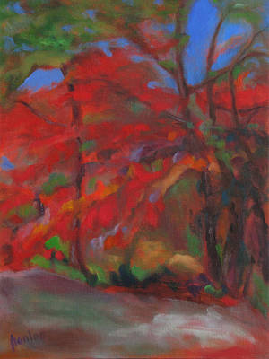 Painting - Fall Fusion by Susan Hanlon