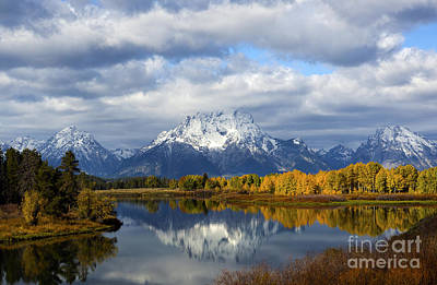 Fall Glory At The Oxbow Art Print