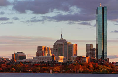 Charles River Photograph - Fall Glory In Boston by Juergen Roth