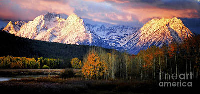 Photograph - Fall Glory In The Tetons by Deby Dixon